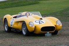 Ferrari 250 TR (Chassis 0736TR - 2014 Pebble Beach Concours d'Elegance) High Resolution Image