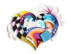 Yulia Brodskaya - Whimsical heart