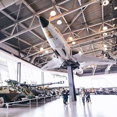 We're kicking off #MuseumWeek in the LeBreton Gallery at the Canadian War Museum in downtown Ottawa Canadas national museum of military history. This fantastic capture of the aircraft and tanks was taken by @bluerainblog. The @CanWarMuseum is launching their Instagram account on Wednesday so give them a follow for more great images like this. Share your museum photos with us using #MyOttawa. #DiscoverON #ExploreCanada by ottawatourism
