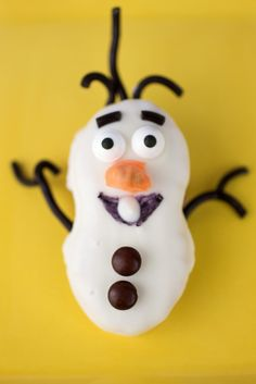 Olaf Nutter Butter Cookies Recipe