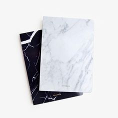 Poketo Marble Blank Notebook, $32poketo.com - Photo: Courtesy of Poketo