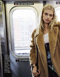 "Duchess Dior: ""Subway Life"" Hailey Clauson for Grazia France Aug/Sept 2015"