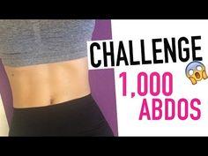 #GetSexy Challenge ventre plat et dessiné 1000 abdos ! Qui relève le défi ? (COMPLET)