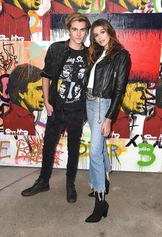 Presley and Kaia Gerber