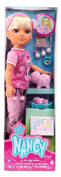 Tienda De Muñecas - Nancy Y Sus Bonitas Mascotas De Famosa - Diversal Nancy Doll, Baby Born, Dolls, Roxy, Unicorn, Heaven, Magic, Shirt, Vestidos