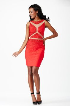eb925cc4545 Great jersey dress with a halter neckline and keyhole cut out. Thin belt  and neckline are encrusted with dazzli…