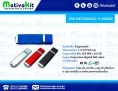 USB engomado