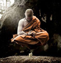 Bohemian Buddha - conceptual fine art photo by David Heger Little Buddha, Buddha Art, Buddhist Monk, Foto Art, Fine Art Photo, Yoga Meditation, Martial Arts, Religion, Photoshop