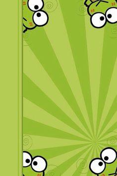 Image via We Heart It https://weheartit.com/entry/136087147 #background #green #keroppi #sanrio #wallpaper #fondo