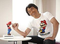 Shigeru Miyamoto, o pai da criança!
