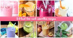 Low-carb smoothies are a popular addition to any diet plan. Check out the best recipes for 2016 here.