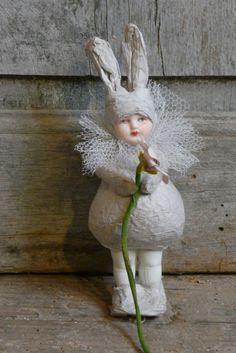 easter bunny deco | Nieuw - New | De Merel Brocante webwinkel