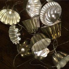 Vintage Jelly Mould Lights