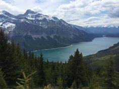 Alymers lookout -byjilljordan #LakeMinnewanka #Alberta #Canada #hiking #travelpics
