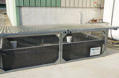 L'aire de lavage avec un système de traitement des effluents phytosanitaires permet de protéger la ressource en eau  @FRSEAFC
