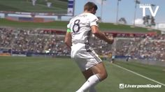 """#Gerrard scored this beautiful goal from the LA Galaxy two days ago! Typical Stevie G! Our captain fantastic recently said this, """"Sooner rather than later I will return to where I'm comfortable with my people and that's Liverpool. I miss my friends and my family. I miss a bit of cold weather. I miss going to the games. I spent 35 years in Liverpool."""" We'd love to have you back!! #LFC #YNWA"""
