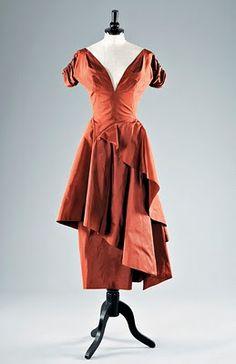 Charles James, American designer <--amazing cut, beautiful colour