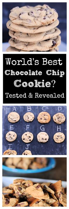 10 Recipes that Claim to be the Best Chocolate Chip Cookies Ever-Put to the test by 40+ taste testers. Find out which was really the best!