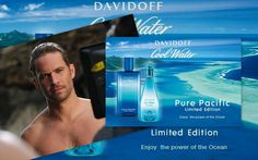 Paul Walker the new face of Davidoff Cool Water and the National Geographic