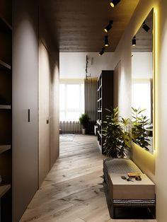 Новости прихожая en 2019 foyer design, home deco furniture y Flat Interior, Home Interior, Modern Interior Design, Interior And Exterior, Foyer Design, House Design, Home Deco Furniture, Small Hallways, Hallway Decorating