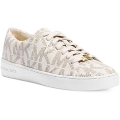See this and similar Michael Kors sneakers - Give your casual style a luxe makeover. The Keaton sneakers by Michael Michael Kors.