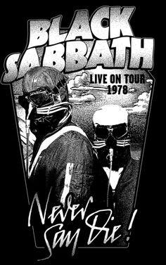 Музыкальный стиль Black Sabbath, выбрав в качестве стилистической платформы утяжелённый блюз-рок конца 1960-х годов (Cream, Blue Cheer, Vanilla Fudge), задали новое направление развитию стиля: снизили темп, сгустили звучание бас-гитары и построили композиции на пересечении тяжёлых риффов[25]. В текстах группа отказалась от любовной лирики и характерных фразеологических штампов блюз-рока, создав новый для своего времени поэтический мир, в котором преобладали самые мрачные образы и мотивы.