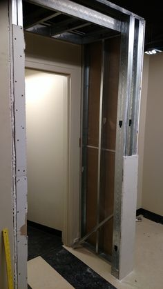 Ramp door access going in from the third to fourth floor at Deca. #DCandR #CommercialProject #DependabilityFirst