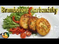 Bramborové karbanátky - YouTube Czech Recipes, Ethnic Recipes, Baked Potato, Potatoes, Make It Yourself, Facebook, Meat, Chicken, Cooking