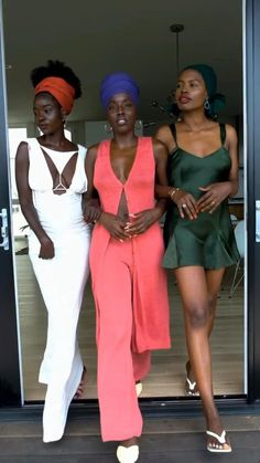 Black Women Hairstyles, Summer Hairstyles, African Head Scarf, Curly Hair Styles, Natural Hair Styles, Beautiful Black Girl, African American Hairstyles, Black Women Art, Fashion Poses