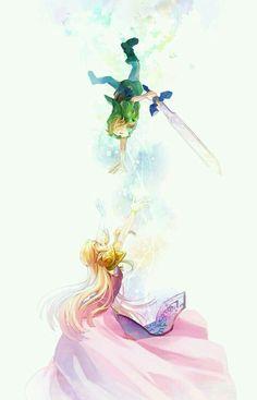 link, zelda, and anime Bild