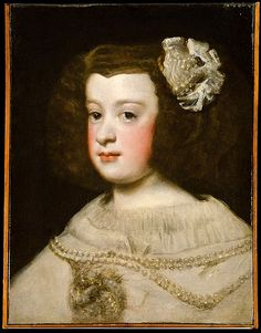 Velázquez (Diego Rodríguez de Silva y Velázquez) (Spanish, Seville 1599–1660 Madrid)   María Teresa, Infanta of Spain
