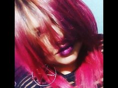 CABELLO ROJO!!/ Tutorial de tinte xD - YouTube