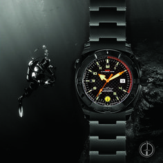 Explore new depths with the MTM SEAL diving watch. Even up to 3,300 feet below the surface, the SEAL watch shows the time brightly and prcisely thanks to the tritium gas-filled tubes and Swiss quartz movement. #MakeItYourOwn here: https://www.specialopswatch.com/products-page/seals/black-seal/ . . Model: Black SEAL - Includes Titanium Bracelet, Ballistic Velcro 1 band, and Rubber Style I band. . . #BuiltForAction #customwatch #diverwatch #divingwatch #menswatch #militarywatch