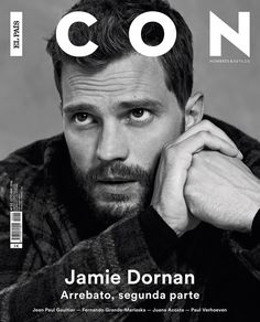 Jamie Dornan in ICON Magazine Oct2016 Edition