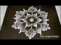 latest pongal kolam designs with dots* sankranthi muggulu *easy friday rangoli designs for beginners Rangoli Designs Latest, Rangoli Designs Flower, Rangoli Border Designs, Rangoli Designs Images, Rangoli Designs With Dots, Rangoli With Dots, Beautiful Rangoli Designs, Simple Rangoli, Flower Rangoli
