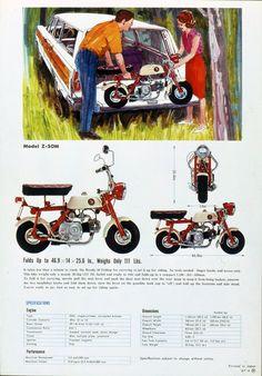 Honda | モーターサイクル・グラフィティ | Monkey Z50M | 復刻アドギャラリー                                                                                                                                                                                 もっと見る