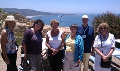 Guests who enjoyed a break from their convention to see the beautiful coastline. La Jolla, San Diego, Tours, Beautiful