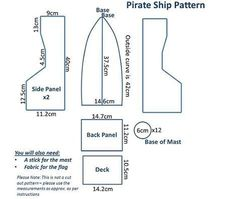 Cómo hacer un barco pirata