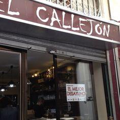 El Callejón, en el centro de Córdoba