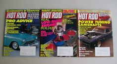 Hot Rod Magazine Lot Engine Building Power Tuning Drags Baja Harley Vintage