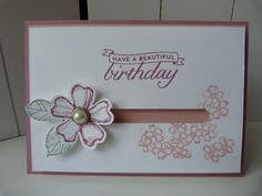 StampinClubNederland - Stampin Up! products and workshops: Punch Party: Slider Cards