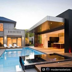 #Repost @modernexteriors with @repostapp  Check Out This Modern Poolside Cabana -- Yay or Nay? -------------------------------------------- Follow @modernexteriors -- 117k Followers -------------------------------------------- @modernexteriors Instagram's leading home trends designs and inspiration page for home owners builders designers architects and more... -------------------------------------------- Greater Toronto's Exterior Building Specialists for Home & Commercial Projects…