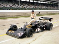 """Jan Shaffer keeps knocking out great pieces on Indy greats. Today on """"Gary B"""", Gary Bettenhausen. Indy Car Racing, Indy Cars, Indianapolis Motor Speedway, Pinewood Derby, Vintage Race Car, Car And Driver, Over The Years, Race Cars, Dream Cars"""