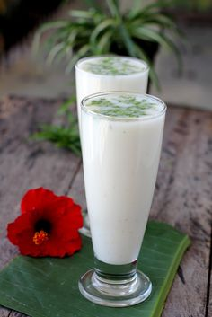 Chaas or buttermilk recipe - diluted yogurt drink flavored with salt and/or black salt, roasted cumin and fresh coriander. http://www.sailusfood.com/2015/04/21/chaas-buttermilk-recipe