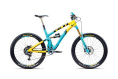 Yeti SB6c 30th http://www.bicycling.com/bikes-gear/recommended/2016-buyers-guide-best-enduro-bikes/slide/8