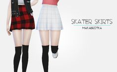 My Sims 4 Blog: Young Zoey Skirt Recolors by Makabrotka