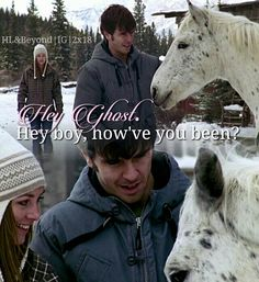 Heartland - Season 2 Episode 18 - Step By Step Heartland Season 2, Amy And Ty Heartland, Heartland Quotes, Heartland Tv Show, Best Tv Shows, Best Shows Ever, Ty Et Amy, Amber Marshall, Strong Family