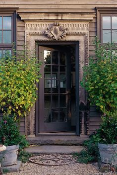 door/entryway (courtesy of AJF Design) Windows And Doors, House Exterior, Entrance Doors, Exterior Design, Front Door, Entry Doors, Beautiful Doors, Exterior Doors, Door Entryway