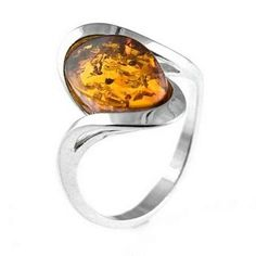 Uniqueness Amber Ring