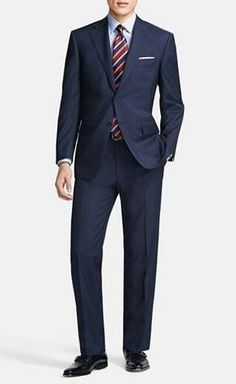 Suits are always in style.